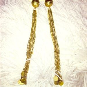 Jewelry - GOLD DROP EARRINGS